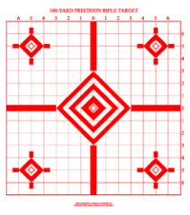 printable rifle targets