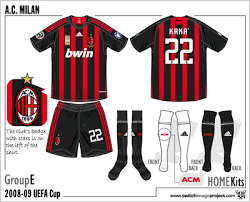 ac milan football shorts