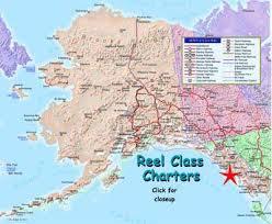 detailed map of alaska