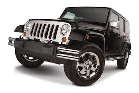 jeep chrome grills