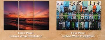 canvas panels