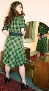 green shirtdress