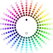 purple color wheel