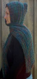 hooded scarf patterns