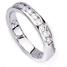 diamonds wedding band
