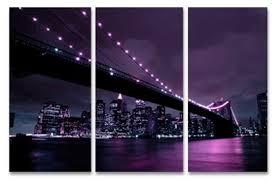 purple canvas prints