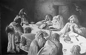 last supper drawings
