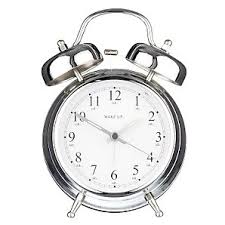 silver alarm clocks