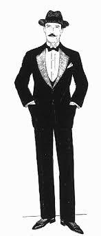 victorian tuxedo
