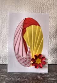 iris folding card