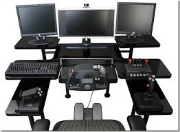 computer gaming table