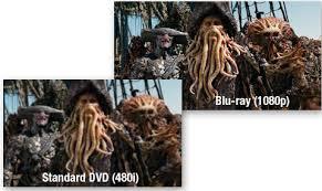 dvd blue ray comparison