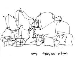 frank gehry sketches