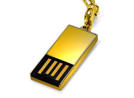 gold usb stick