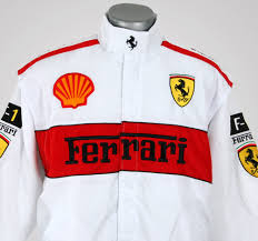ferrari racing jacket