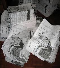 newspaper drawings