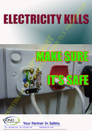 electrical safety posters