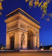 l arc de triomphe paris