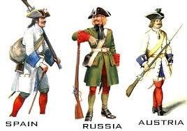 18th century uniform
