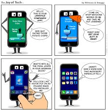 cartoon iphone