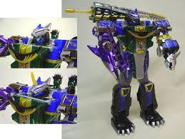 mighty morphin power rangers zords
