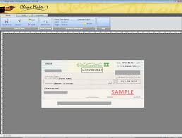 bank cheque template