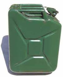 military fuel cans