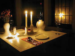 dinner table for two