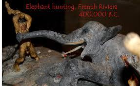 elephants hunting