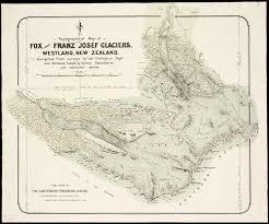 franz josef glacier map