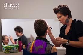 make up artists work