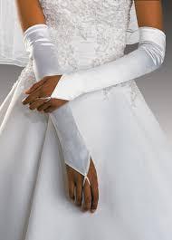 brides gloves