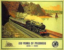 great western railway poster