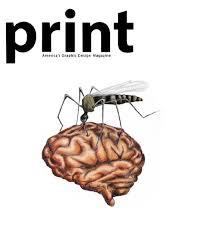 print magazine logo