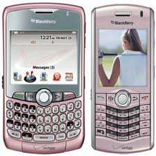 blackberry curve pink 8330