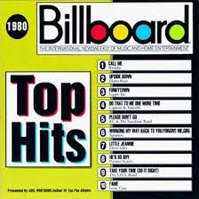 billboard top hits 1980