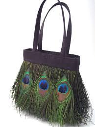 feather handbags