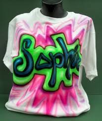 airbrushed t shirt designs
