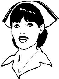 clip art of nurse