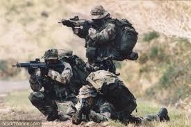 marine troops