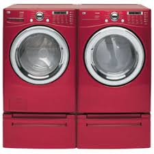 red washer dryer