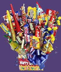 candy boquet