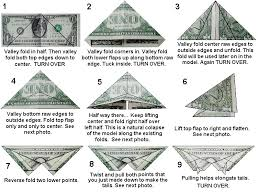how to money origami