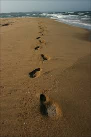 pictures of footsteps