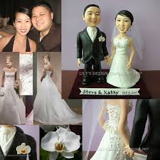 engraved wedding cake toppers