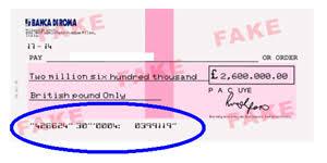 micr cheques