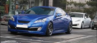 genesis coupe blue