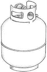 propane container
