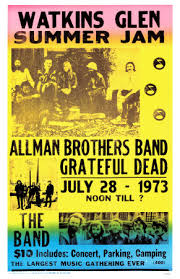 allman brothers band poster