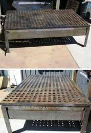 portable welding table